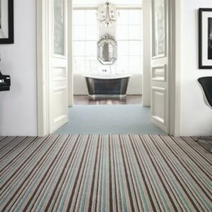 Brockway Carpet -Solar Stripe Serenity